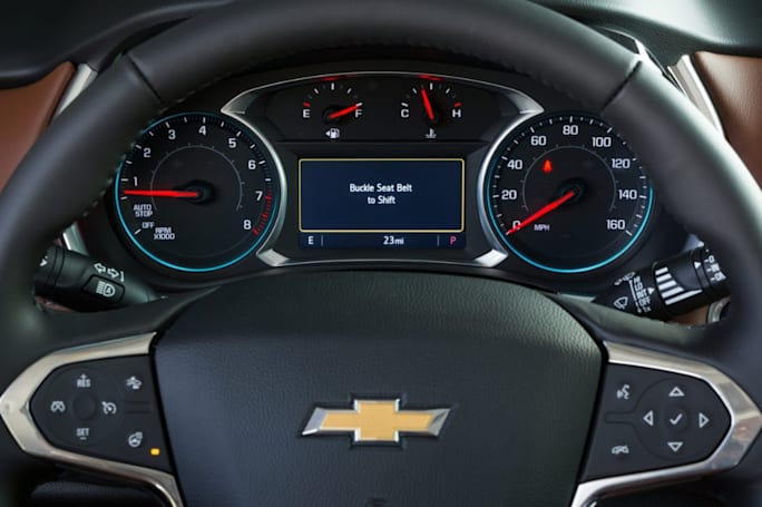 Chevy's safety feature won't let teens drive without seat belts