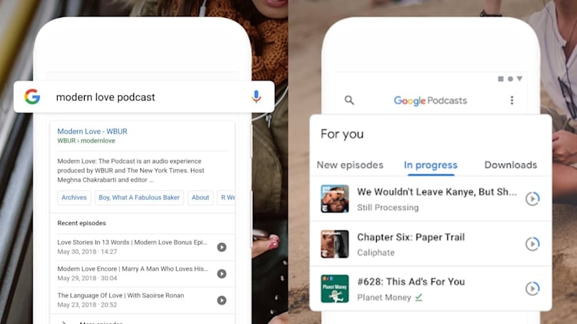 Google Podcasts comes to iOS and desktop