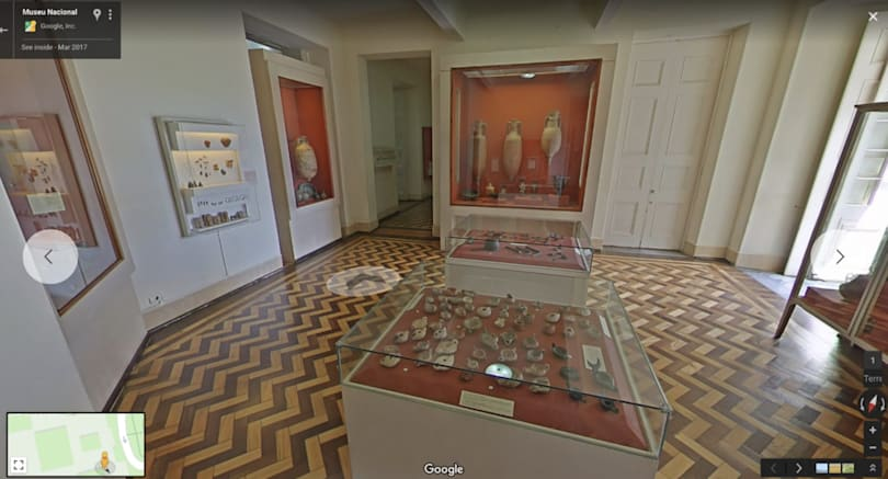 Google opens virtual version of fire-ravaged Brazil museum
