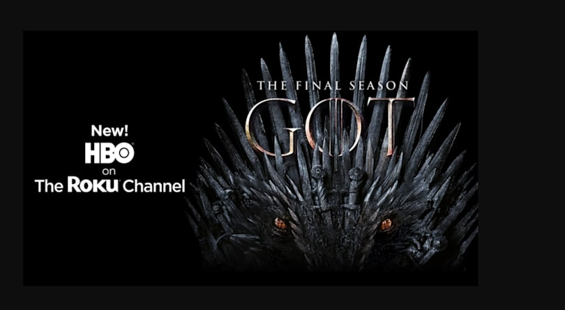 HBO is available as a premium add-on through the Roku Channel