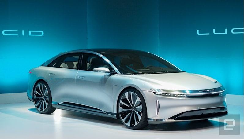 Lucid Motors will give owners access to VW's charging network
