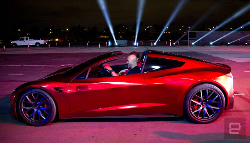 Tesla's new Roadster will appear on 'Jay Leno's Garage' August 23rd