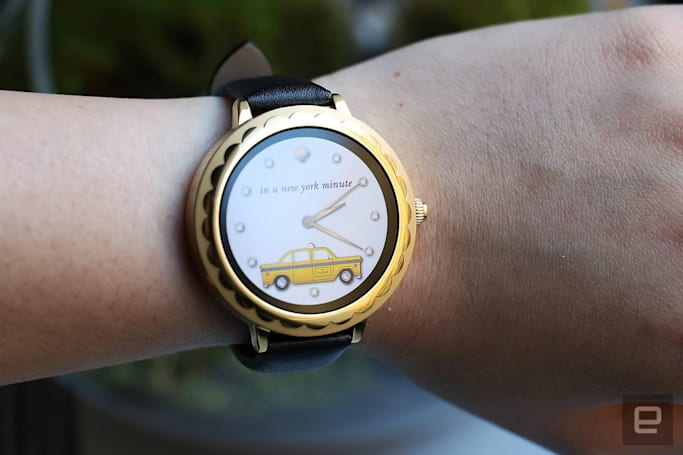 Kate Spade designed an Android Wear smartwatch