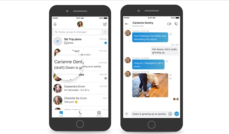 Skype messaging is getting some much-needed upgrades