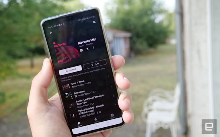 YouTube Music listeners are getting three personalized playlists this month