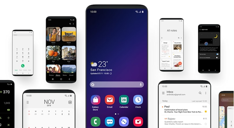 Samsung cleans up its Android skin with 'One UI'
