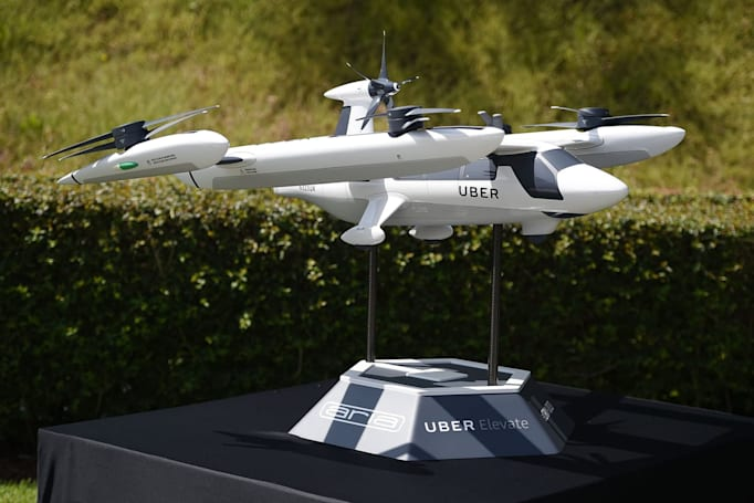 Uber's drone-based food delivery could begin in 2021
