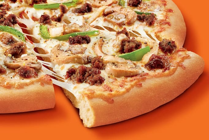 Impossible launches sausage pizza with Little Caesars