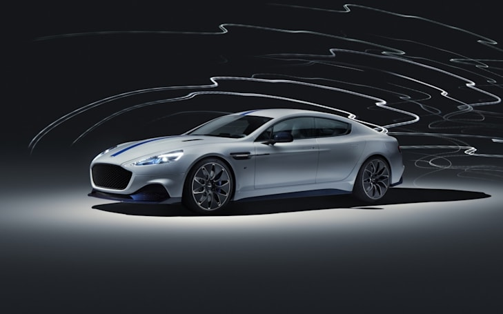 Aston Martin reportedly scraps plans for its all-electric Rapide E