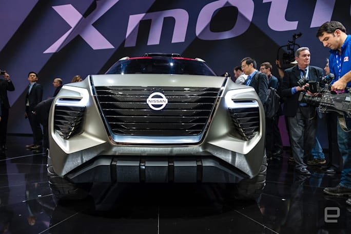 Nissan's Xmotion concept swaps key fobs for fingerprints