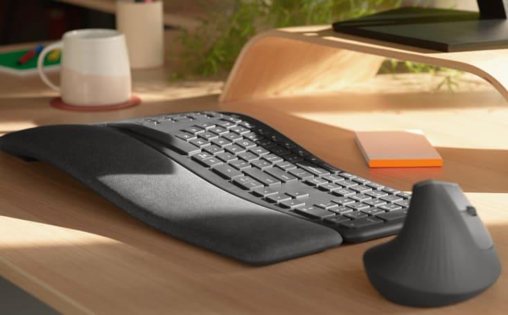 Logitech's K860 split ergonomic keyboard is heaven for your wrists