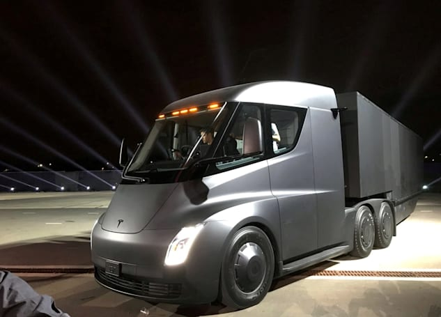 Tesla's plan to charge electric semis relies on its customers