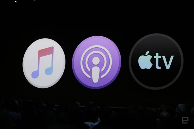 Apple announces separate Music, Podcast and TV apps for Mac