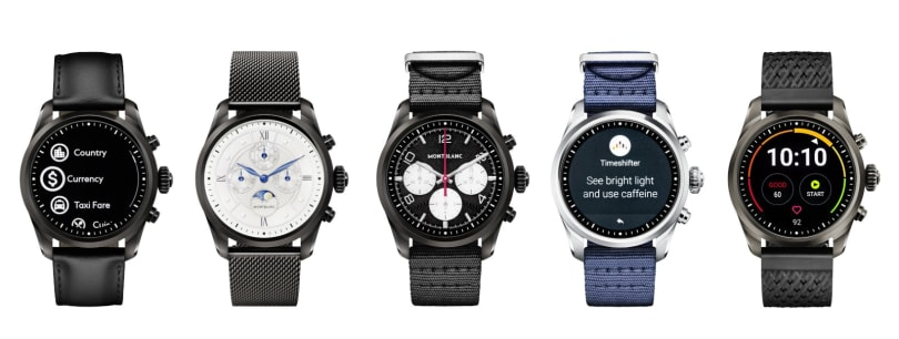 Montblanc ships the first watch with a Snapdragon Wear 3100