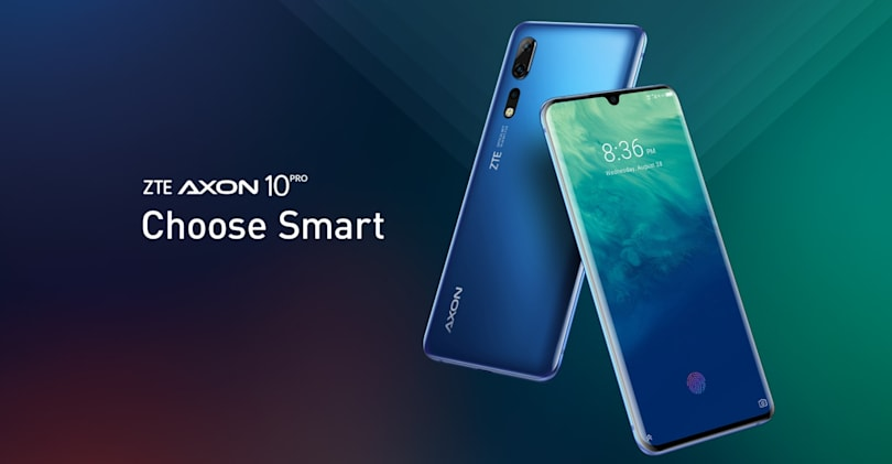 ZTE revives its US hopes with the Axon 10 Pro