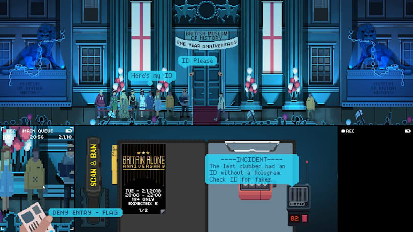 Anti-Brexit RPG 'Not Tonight' is coming to Switch
