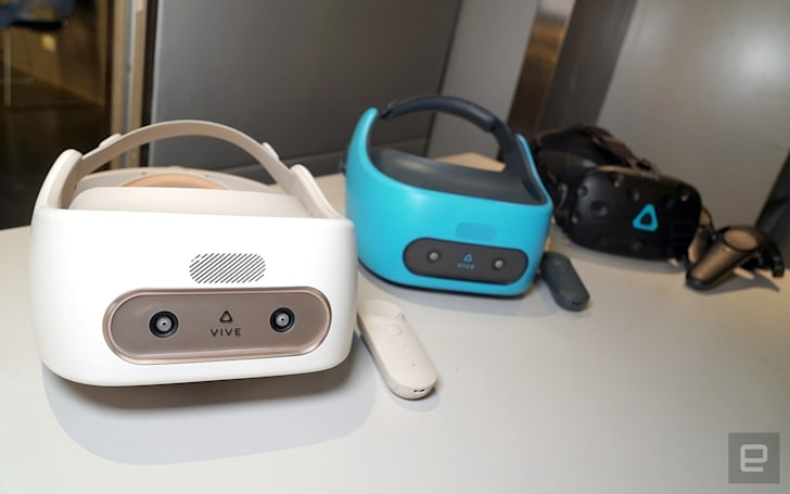 HTC's standalone VR is available in the US, starts at $599