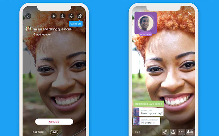 Twitter now lets guests join your live video broadcasts