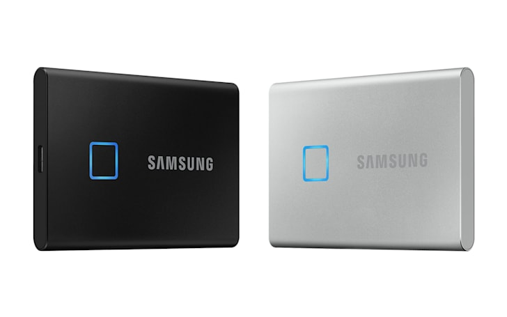 Samsung's T7 Touch SSD can be locked with a fingerprint
