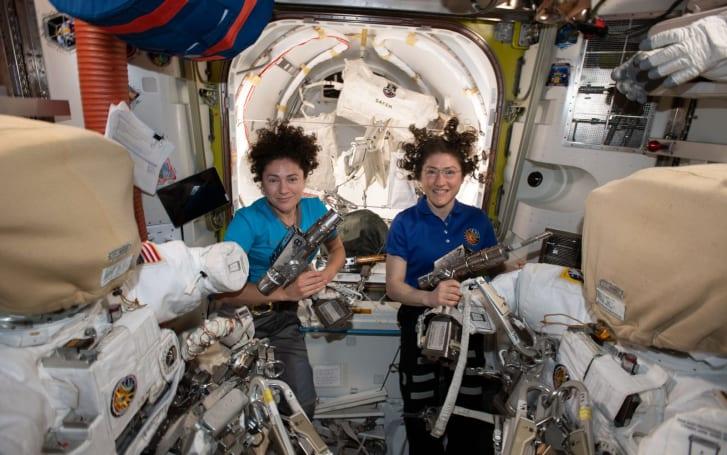 Watch NASA's first all-woman spacewalk
