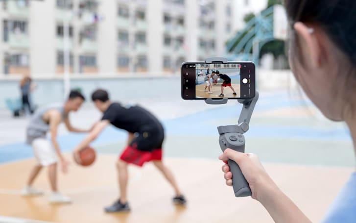 DJI's Osmo 3 smartphone gimbal has a travel-friendly folding design