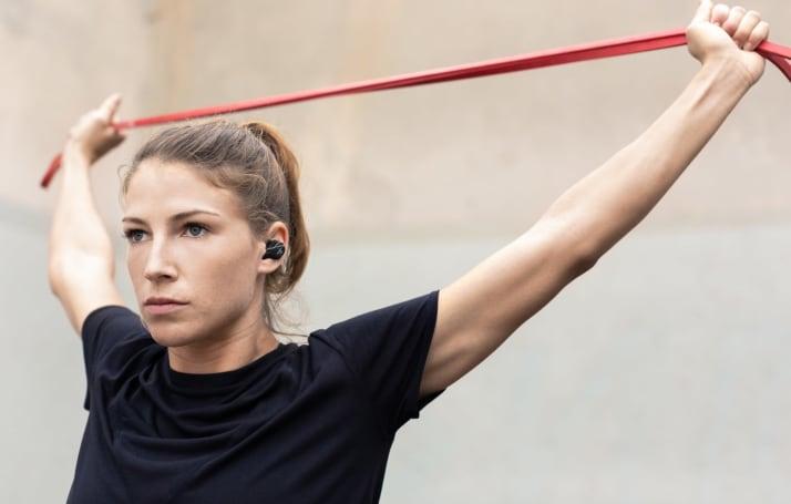 Jaybird's wireless Run XT earbuds are fully waterproof too