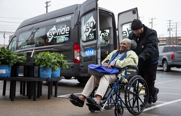Ford is taking its GoRide patient transport service nationwide