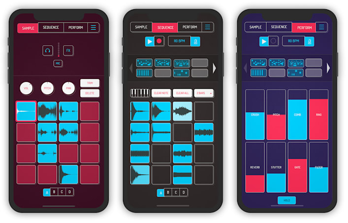 J Dilla-inspired sampler makes it easy to create beats on your phone