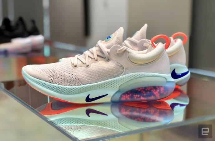 Nike's Joyride shoes use tiny beads to make your runs more comfortable