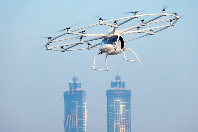 Volocopter will test its autonomous air taxis in Singapore next year