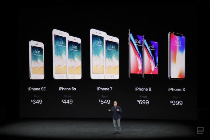 Apple iPhone 8 event by the numbers