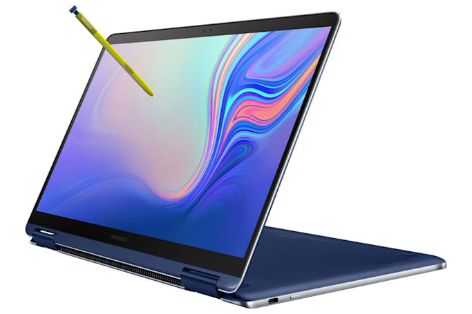 Samsung's lightweight Notebook 9 Pen is aimed at creators