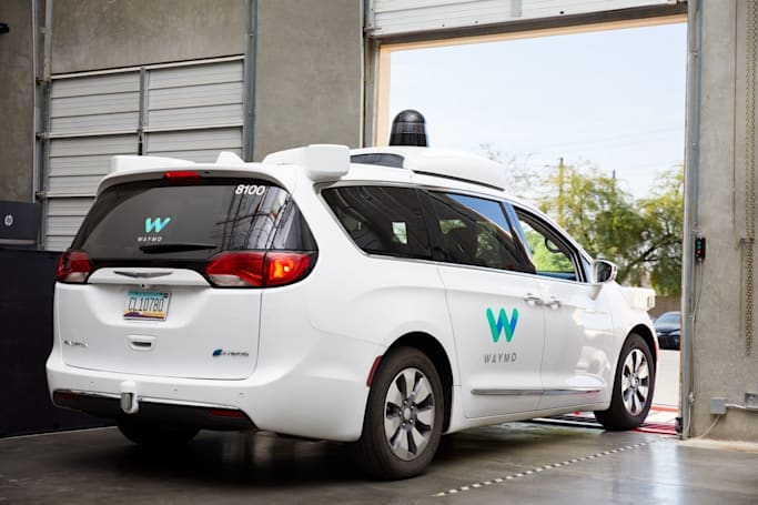 Waymo is building a new service center for its self-driving fleet