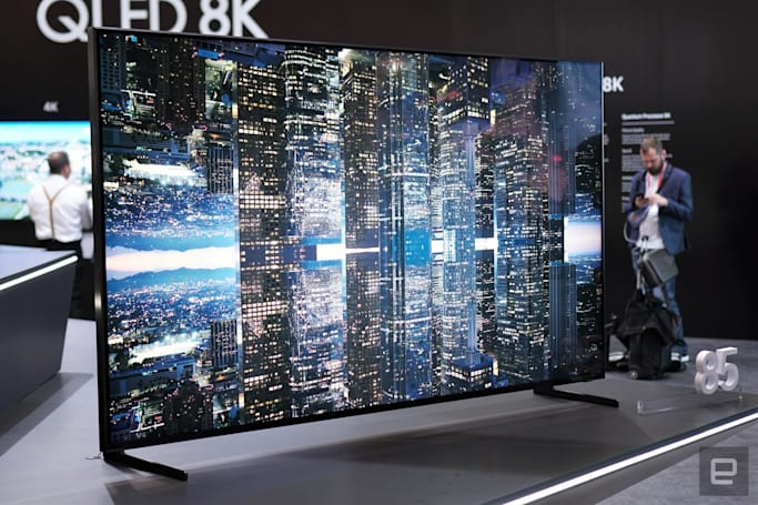 Samsung's 85-inch 8K TV is available to pre-order for $15,000