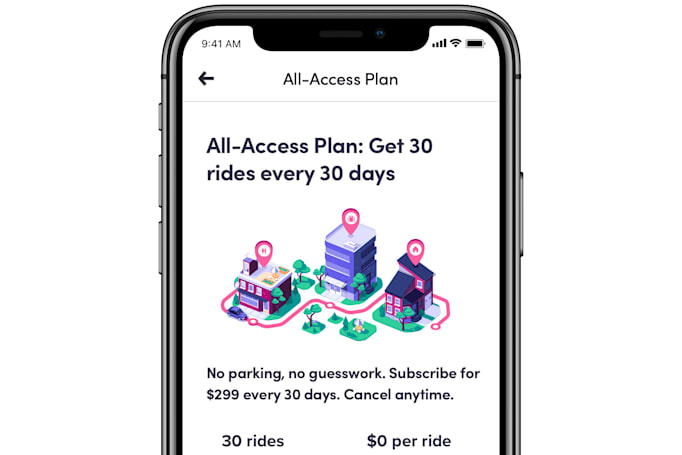 Lyft's $299 All-Access service is available across the US
