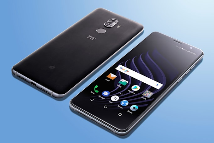 ZTE's latest phones promise tall screens for under $200