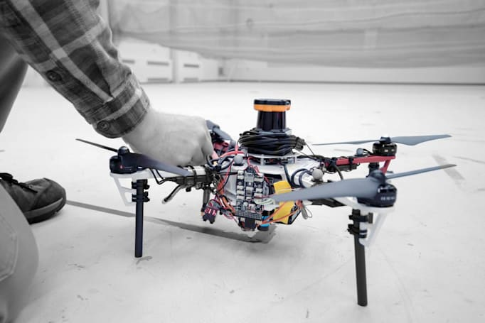 Drone fleets could find lost hikers in forests without using GPS