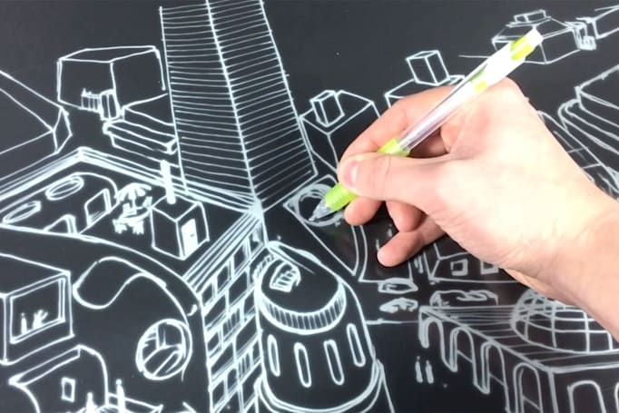 E Ink display lets you write on it as if it were paper