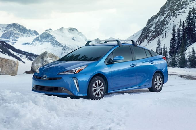 Toyota's 2019 Prius will offer electric all-wheel drive