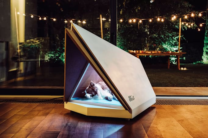 Ford's noise-cancelling doghouse keeps pups calm during fireworks