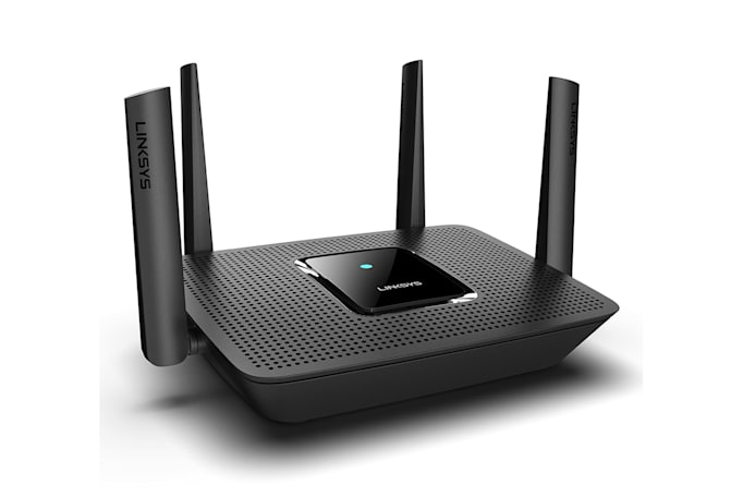 Linksys' Max Stream router can be the center of a mesh network