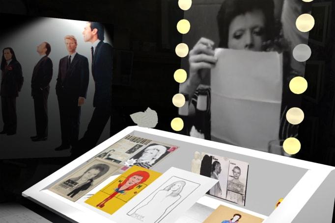 'David Bowie Is' AR exhibit puts Ziggy Stardust on your phone