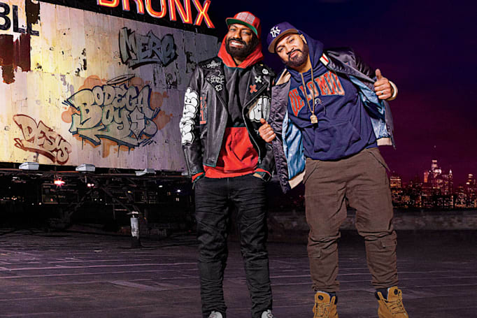 Showtime offers a peek at Desus and Mero's talk show