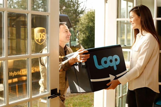 'Zero-waste' Loop delivers Coke and Häagen-Dazs in reusable packaging