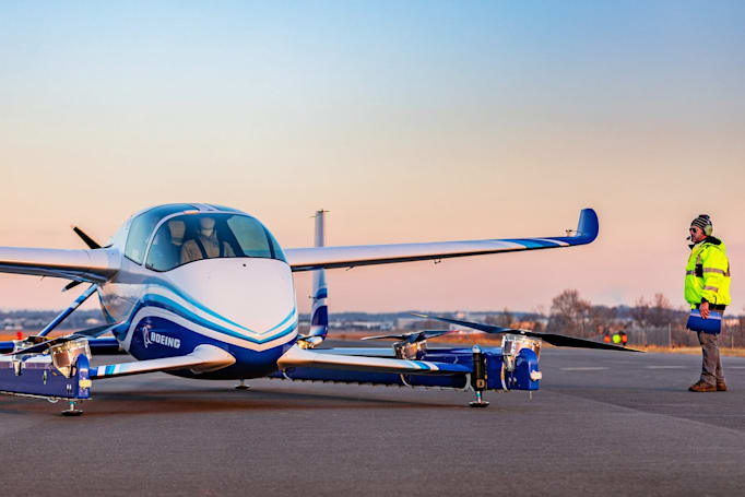 Boeing's self-flying taxi completes its first flight