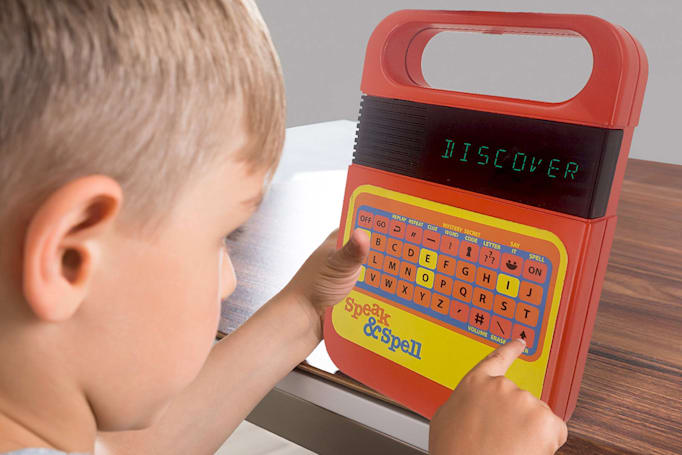 Speak & Spell is B-A-C-K