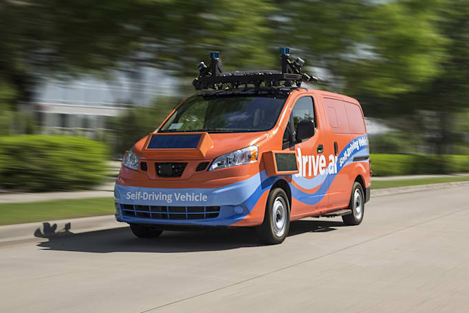 Self-driving vehicle startup Drive.ai may be looking for a buyer