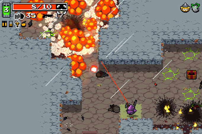 'Nuclear Throne' and other Vlambeer games come to the Switch