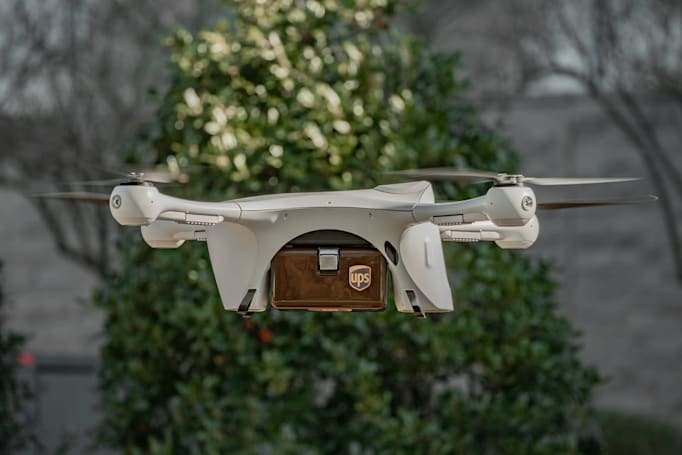 UPS launches a drone 'airline' to deliver medical samples