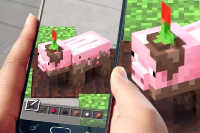 Microsoft teases 'Minecraft' AR for your phone
